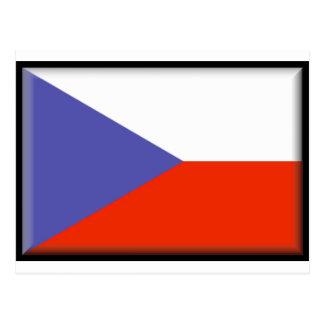 Bandera de la República Checa Postal