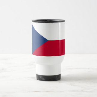 Bandera de la República Checa Taza De Viaje