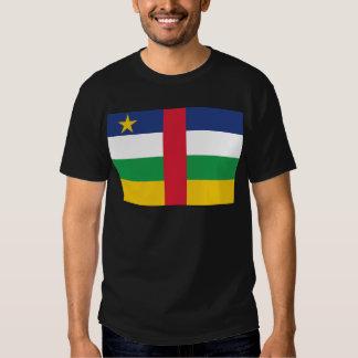 Bandera de la república de África central Playeras