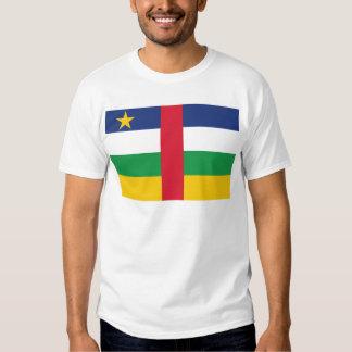 Bandera de la república de África central Polera