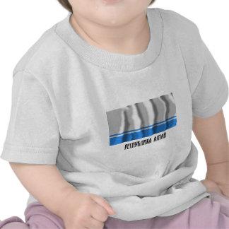 Bandera de la república de Altai Camisetas