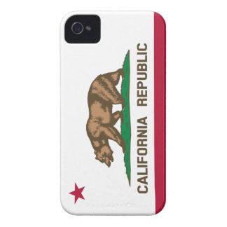Bandera de la república de California Case-Mate iPhone 4 Fundas