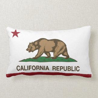 Bandera de la república de California Cojín