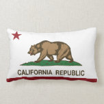 Bandera de la república de California Cojines