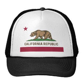 Bandera de la república de California - color Gorras