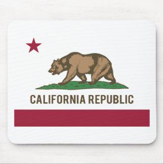 Bandera de la república de California - color Alfombrilla De Ratones
