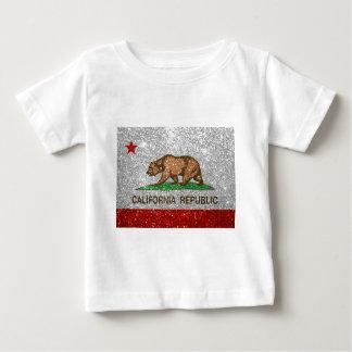 Bandera de la república de California del brillo Camisas