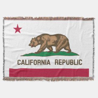 Bandera de la república de California Manta