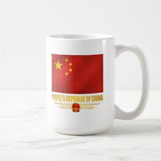 Bandera de la República de China de la gente Taza