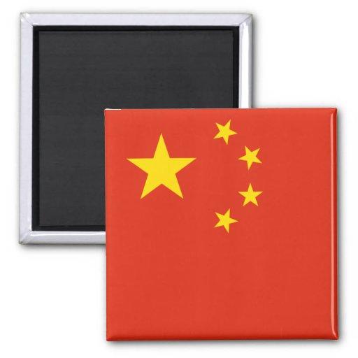 Bandera de la república de China Iman De Frigorífico