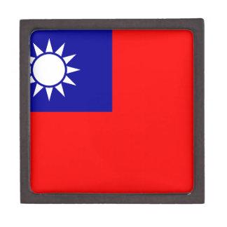 Bandera de la República de China (Taiwán) - 中華民國國旗 Cajas De Recuerdo De Calidad
