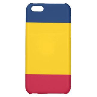Bandera de la República de República eo Tchad