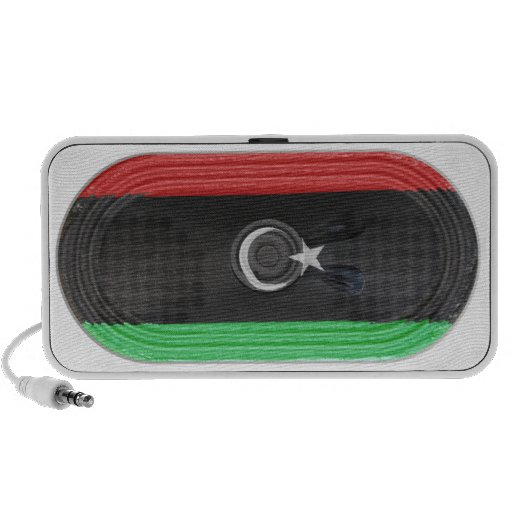Bandera de la república del altavoz FX de Libia en