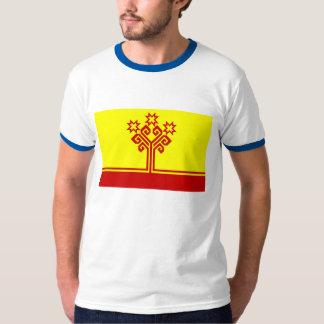 Bandera de la república del Chuvash Playeras