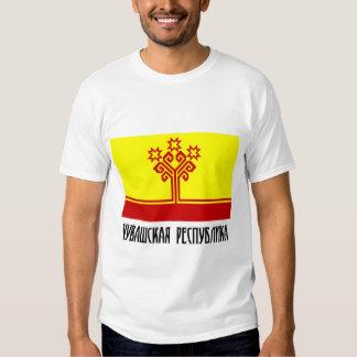Bandera de la república del Chuvash Poleras