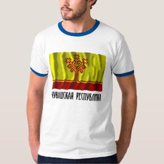 Bandera de la república del Chuvash Remeras