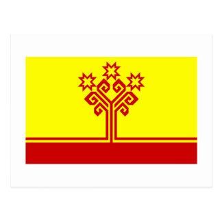 Bandera de la república del Chuvash Postales