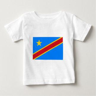 Bandera de la república Democratic de Congo Tshirt
