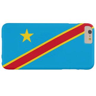 Bandera de la República Democrática del Congo Funda De iPhone 6 Plus Barely There