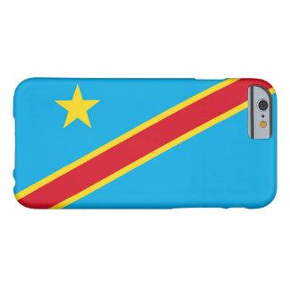Bandera de la República Democrática del Congo Funda De iPhone 6 Barely There