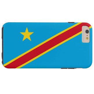 Bandera de la República Democrática del Congo Funda De iPhone 6 Plus Tough