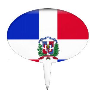 Bandera de la República Dominicana Figura Para Tarta