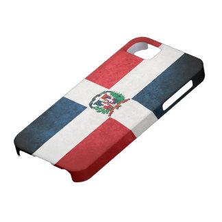 Bandera de la República Dominicana iPhone 5 Cárcasas