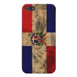 Bandera de la República Dominicana iPhone 5 Cobertura
