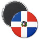 Bandera de la República Dominicana Imán Para Frigorifico