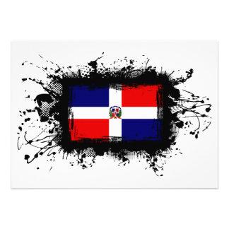 Bandera de la República Dominicana Invitación Personalizada