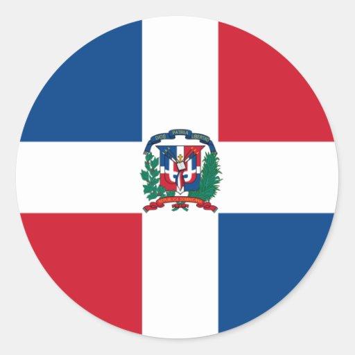 Bandera de la República Dominicana Pegatinas