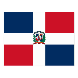 Bandera de la República Dominicana Postales