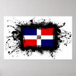 Bandera de la República Dominicana Póster