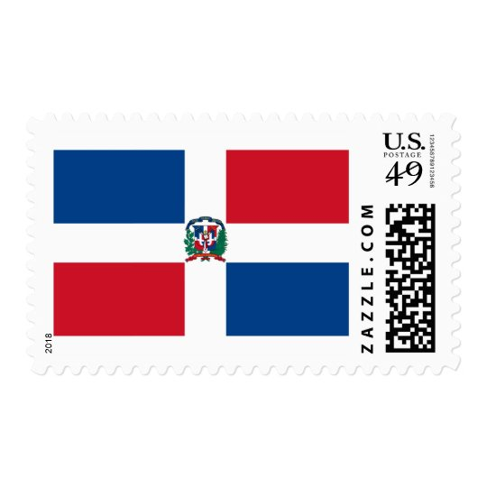Bandera de la República Dominicana Sello Postal