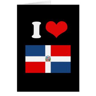 Bandera de la República Dominicana Felicitacion