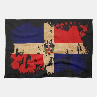 Bandera de la República Dominicana Toalla De Cocina