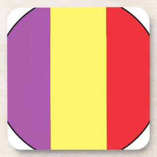 Bandera de la república española - Bandera Posavasos De Bebida