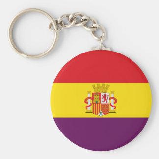 Bandera de la República Española Keychain