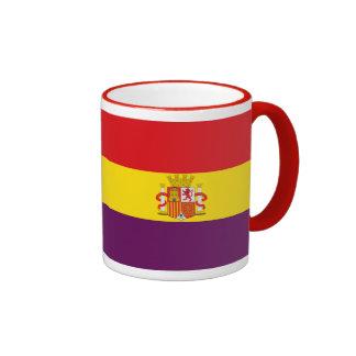 Bandera de la República Española Ringer Mug