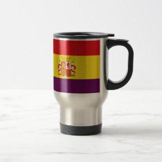 Bandera de la República Española Travel Mug
