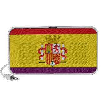 Bandera de la República Española Travel Speakers
