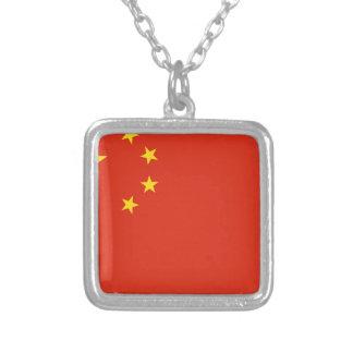 Bandera de la República Popular China Colgante Cuadrado