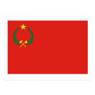 Bandera de la República Popular del Congo Postal