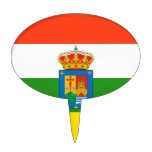 Bandera de La Rioja (España) Decoraciones Para Tartas