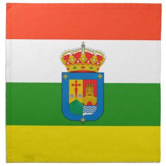 Bandera de La Rioja (España) Servilleta