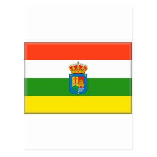 Bandera de La Rioja (España) Tarjeta Postal