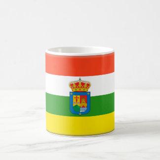Bandera de La Rioja (España) Taza Básica Blanca