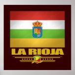 Bandera de La Rioja Impresiones