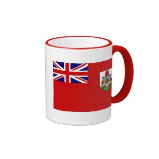 Bandera de la ropa de Bermudas Taza A Dos Colores