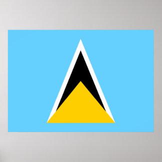 Bandera de la Santa Lucía Posters